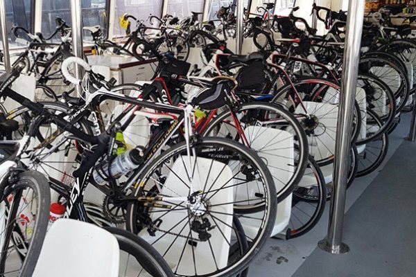 trasporta tu bicicleta en el barco a Sa Calobra