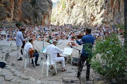 concierto torrent de pareis en Sa Calobra