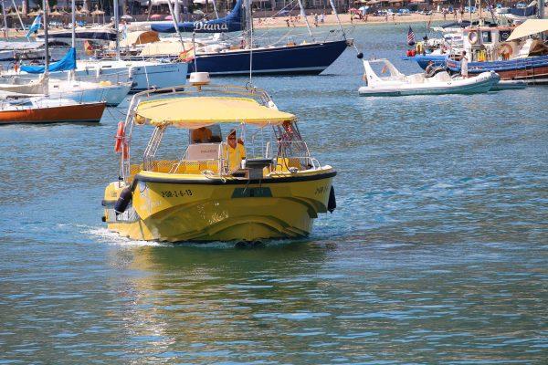 Taxi boat puerto de Sóller