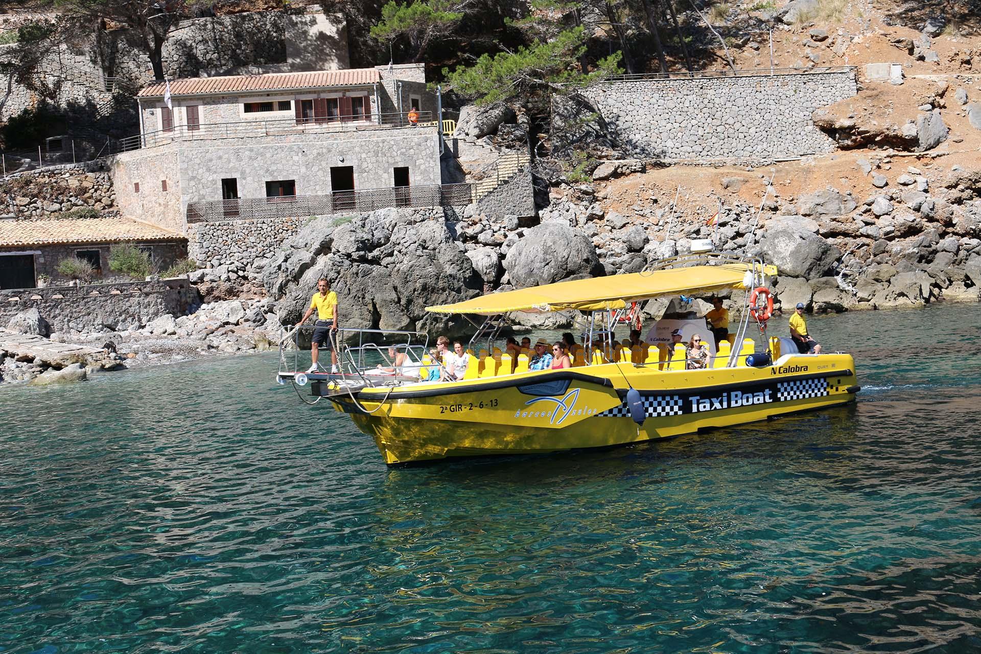 Taxi Boat Sa Calobra