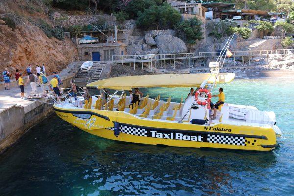 Taxi Boat en Calobra